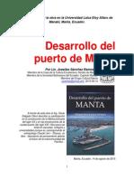 Desarrollo Del Puerto de Manta