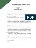 Derecho Romano II 2015