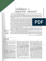Neofeudalismo y Desintegración Nacional (7-11)
