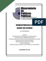 Administracion de  Bienes Del Estado,Estado Argentino,2005