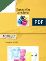 separación de colores