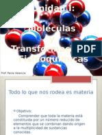 Unidad I Moleculas y Transformaciones Fisicoquimicas