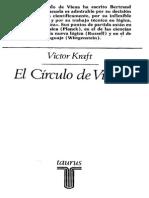 Victor Kraft, El Circulo de Viena