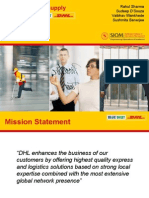 DHL Supply Chain Study