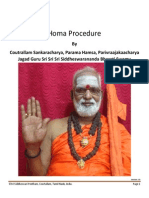 Homa Procedure