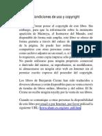 Condiciones de Uso y Copyright