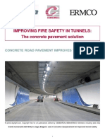 Improving Fire Safety on Tunnels