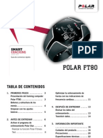 Polar FT80 Getting Started Guide Espanol