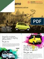 Tata Nano Marketing Communication