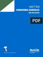 MET99 Condiciones Generales