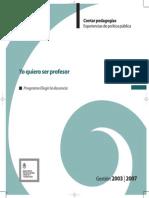 Pelegrinelli-Poliak-Yo Quiero Ser Profesor