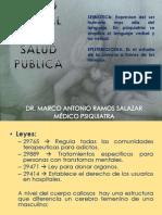1.Salud Mental y Salud Publica Dr. Ramos