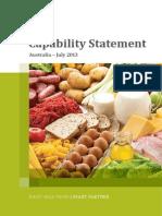 ALS Food - Australia Capability Statement