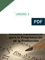 Métodos numéricos de programación.