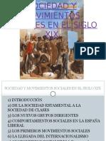 Sociedad y Movimientos Sociales Siglo XIX