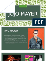 biografía de Jojo Mayer PPTX