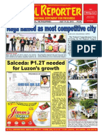Bikol Reporter July 19 - 25, 2015 Issue