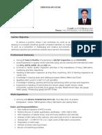 Resume - QA QC Inspect