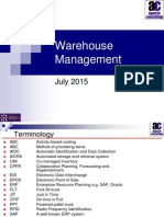 Warehouse management 2015