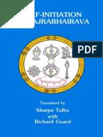 Self-Initiation of Vajrabhairava