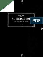 El Redactor Del Congreso de Tucumán 1816
