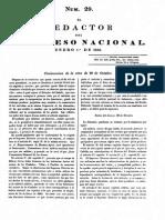 El Redactor Del Congreso de Tucumán 1818