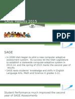 Utah SAGE Results 2015