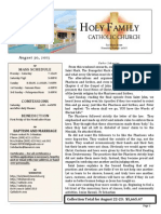 church bulletin for 8-30-2015