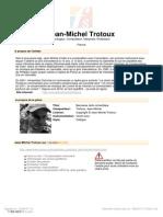 Trotoux Jean Michel Berceuse Celto Romantique 16610