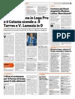 La Gazzetta dello Sport 30-08-2015 - Calcio Lega Pro