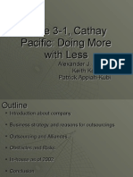 153407043 Case 3 1 Cathay Pacific Doing More With Less