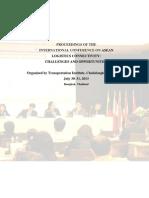 ASEAN Logistics Connectivity