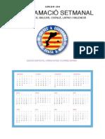 Agenda-programador dels països catalans