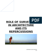 Role of Surveying in Architecture and Its Repercussions