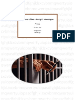 Blog - Prisoner of Pen - Amogh's Monologue_30-Aug-2015