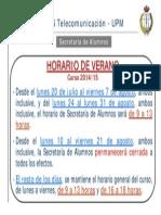Aviso Horario Verano Secretaría_2