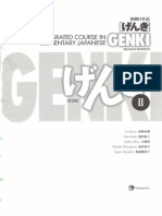Genki - An Integrated Course in Elementary Japanese II [Second Edition] (2011), WITH PDF BOOKMARKS!