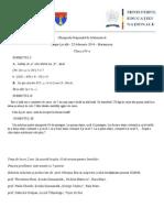 2014 Matematica Locala Maramures Clasa a Iva Subiectebarem