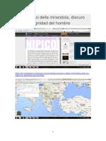 ARISTOTELES Giovani Pico Della Mirandola-discuro Sobre La Dignidad Del Hombre