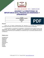 Articulo - Ildefonso_ramirez La Personalidad y La Creatividad