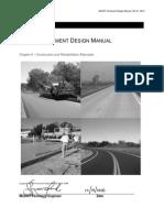 Pavement Design Manual CIR