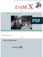 Malcolm X Powerpoint