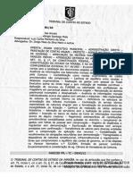 TCE Reprovação Contas 2009