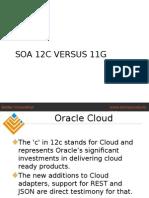 SOA 12c Versus 11g