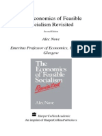 Nove Alec - The Economics of Feasible Socialism (Revisited)