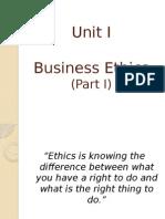 Ethics Unit I