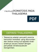 Hemokromatosis Pada Thalasemia