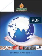Panama petroleum India corporate annual report 2013