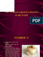 The 10 Most Expensive Desserts in the World