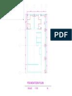 Bahay Renovation Foundation Plan Model sample#1